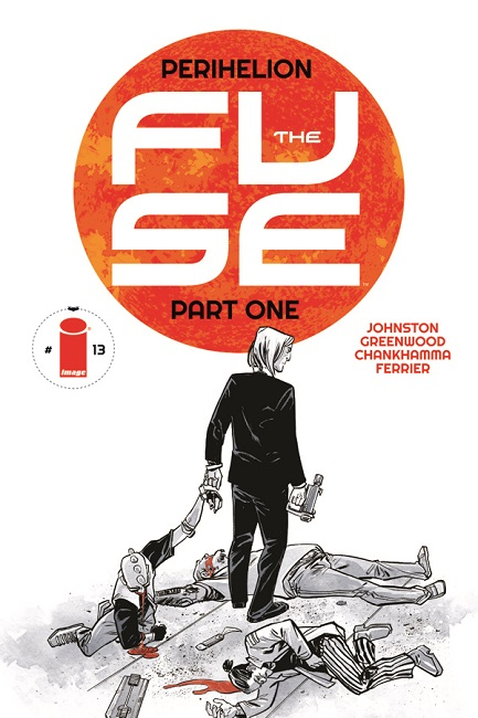 THE FUSE 13 cover .1