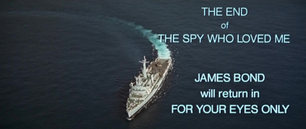 The Spy Who Loved Me end titles
