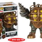 bioshock big daddy pop funko vinyl gamer christmas