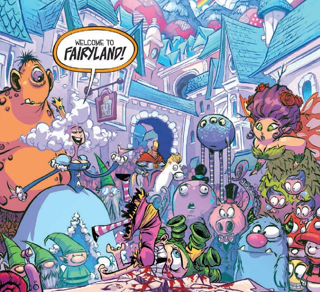 I Hate Fairyland feature