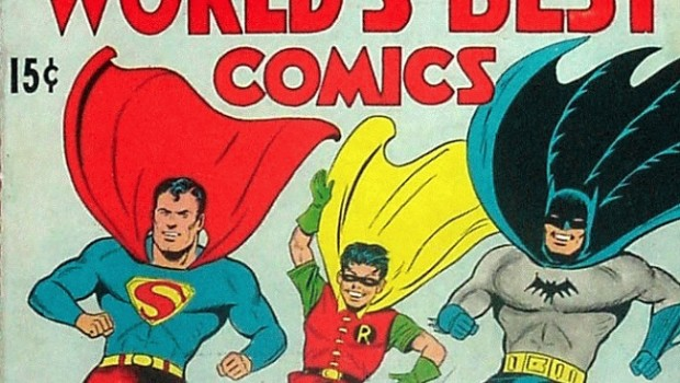 World's First Comics - first instance of DC Comics continuity