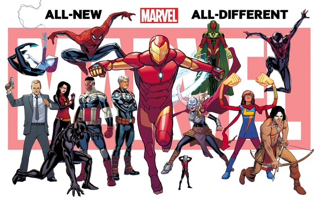 All-New, All-Different Marvel relaunch