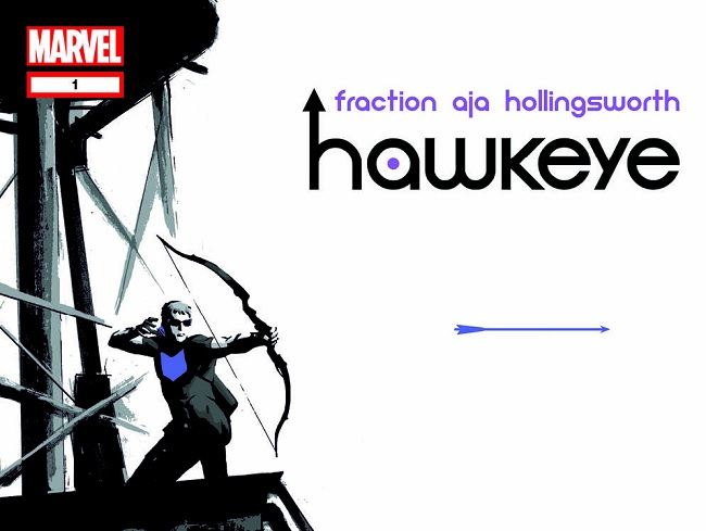 Matt Fraction and David Aja's Hawkeye