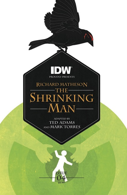 Shrinking Man 4 cover