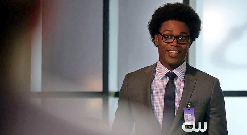 Curtis Holt in Arrow Season 4 Episode 2: The Candidate