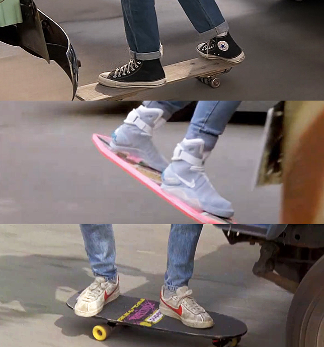 Back to the Future Footwear