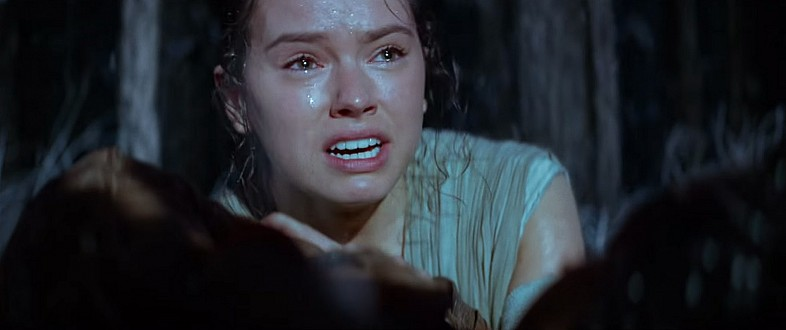 Rey in Star Wars Episode VII: The Force Awakens