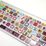 keyboard decal gamer christmas