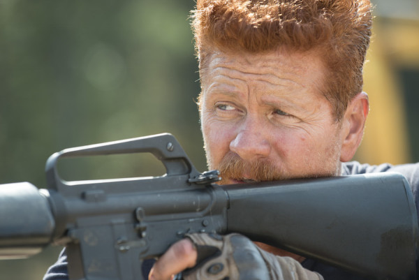 Michael Cudlitz as Abraham - The Walking Dead _ Season 5, Episode 14 - Photo Credit: Gene Page/AMC