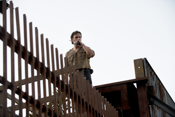 Andrew Lincoln as Rick Grimes - The Walking Dead _ Season 5, Episode 5 - Photo Credit: Gene Page/AMC