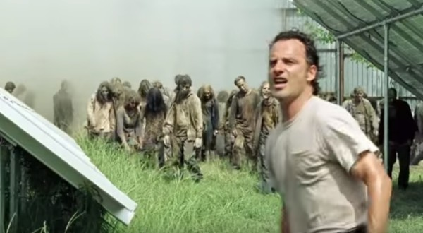 The Walking Dead Rick Horde